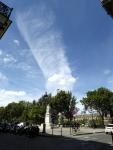 Burning Cloud Over Paris